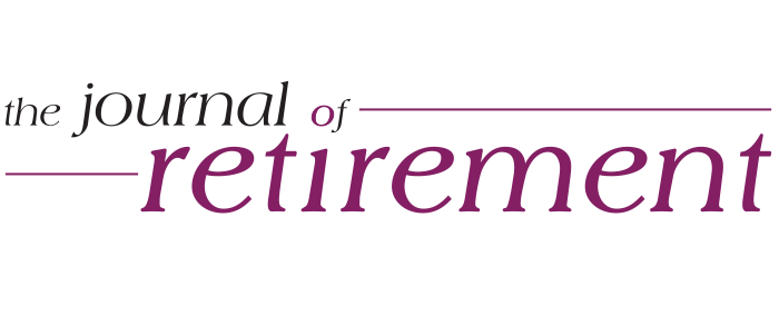 The Journal of Retirement